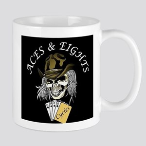 Aces and Eights Cycles Logo Mug