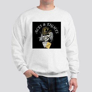 Aces and Eights Cycles Logo Sweatshirt