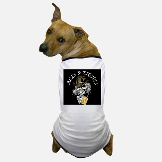 Aces and Eights Cycles Logo Dog T-Shirt