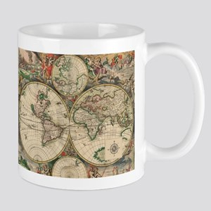 Antique Old World Map Mug