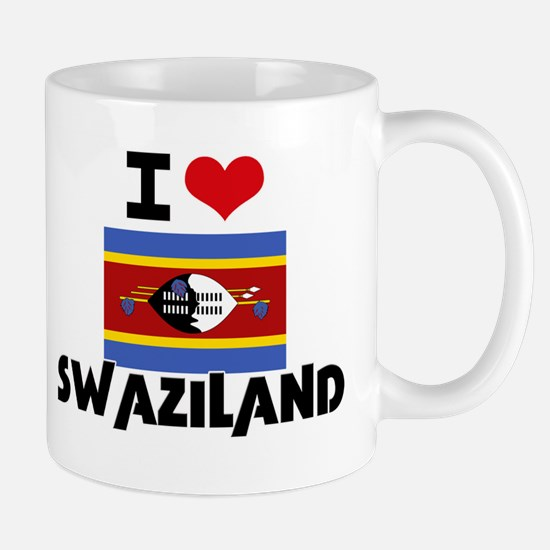 I HEART SWAZILAND FLAG Mug