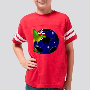 2-kangaroosoccer Youth Football Shirt