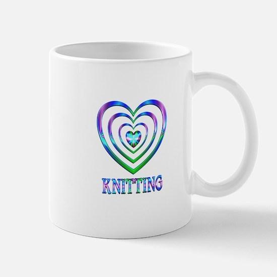 Knitting Hearts Mug