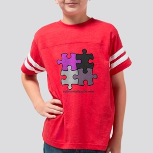Puzzle Autisme Infantile Pink Youth Football Shirt