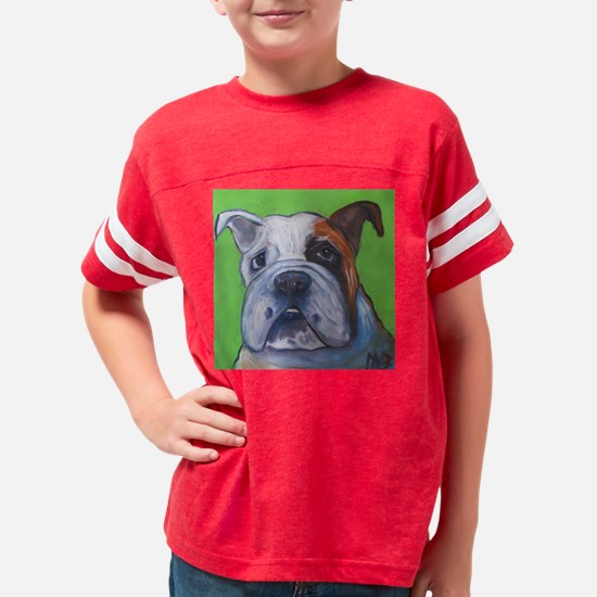 green bullie Youth Football Shirt