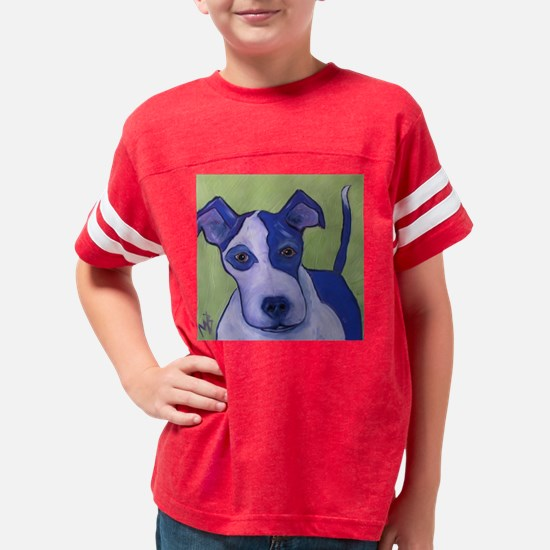 green russell Youth Football Shirt