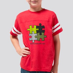 Puzzle Autisme Infantile Yell Youth Football Shirt