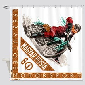 1962 Hungary Motorcycle Ice Racing Postage Stamp S