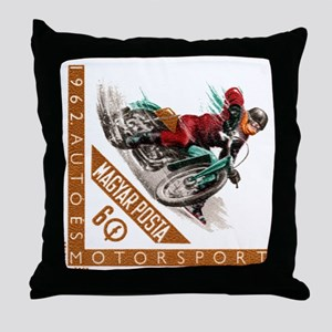 1962 Hungary Motorcycle Ice Racing Postage Stamp T