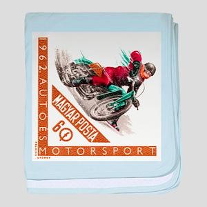 1962 Hungary Motorcycle Ice Racing Postage Stamp b