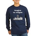 Imagine No Religion Long Sleeve Dark T-Shirt