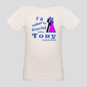 Dancing With Tony Organic Baby T-Shirt