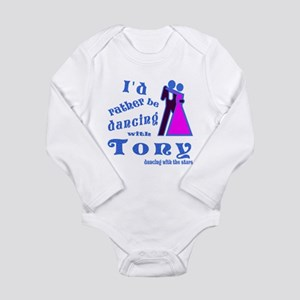 Dancing With Tony Long Sleeve Infant Bodysuit