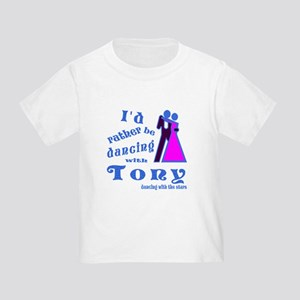 Dancing With Tony Toddler T-Shirt