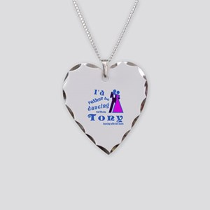 Dancing With Tony Necklace Heart Charm