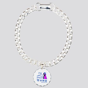 Dancing With Tony Charm Bracelet, One Charm