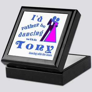 Dancing With Tony Keepsake Box