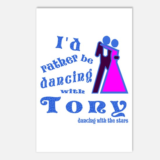 Dancing With Tony Postcards (Package of 8)