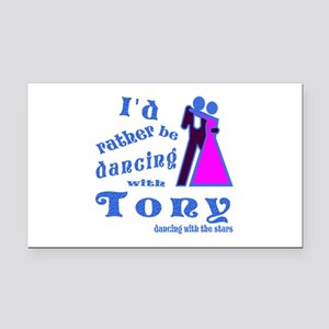 Dancing With Tony Rectangle Car Magnet