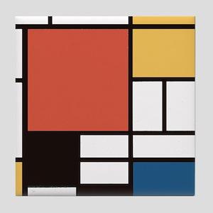 Mondrian Number Two Tile Coaster