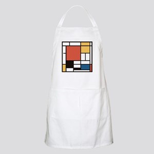 Mondrian Number Two Apron