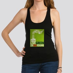 LIVE GREEN Racerback Tank Top