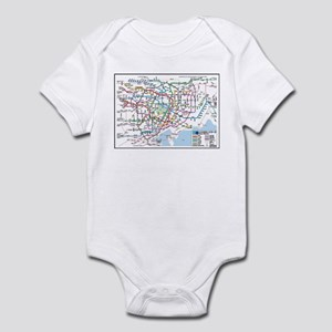 52465245c0 Tokyo Metro Baby Bodysuits - CafePress