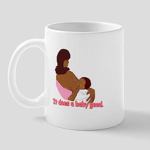 Breastfeeding: It does a baby Mug