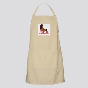 Breastfeeding: It does a baby BBQ Apron