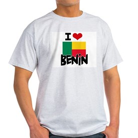 I HEART BENIN FLAG T-Shirt