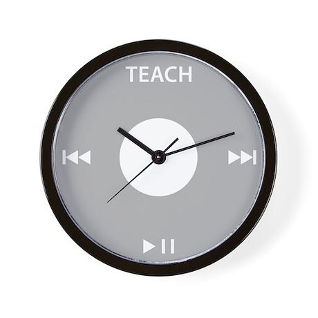 Podcasting TEACH Wall Clock