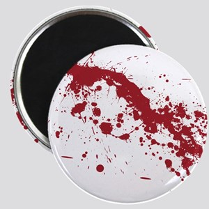 Red Blood Splatter Magnet