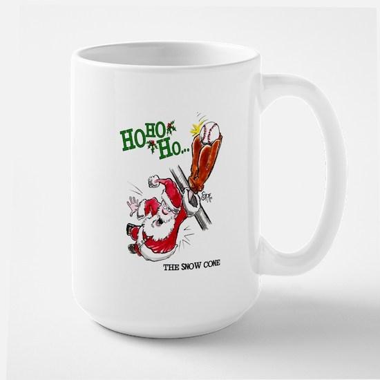 Christmas Baseball Mug