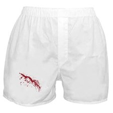 Red Blood Splatter Boxer Shorts