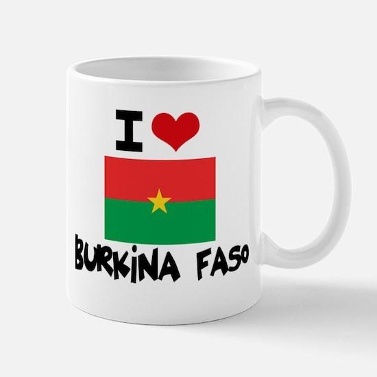 I HEART BURKINA FASO FLAG Mug