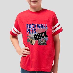 Rockwall_Pets_Rock Youth Football Shirt
