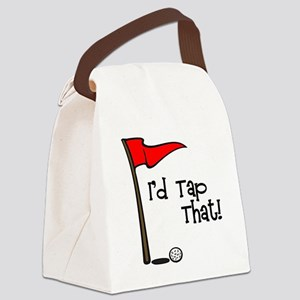 I'd Tap That Canvas Lunch Bag