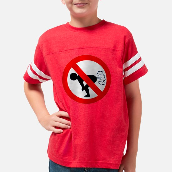 fart Youth Football Shirt