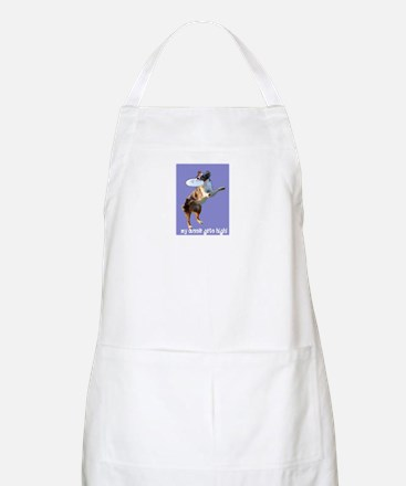 Aussie Gets High BBQ Apron