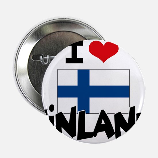 "I HEART FINLAND FLAG 2.25"" Button"
