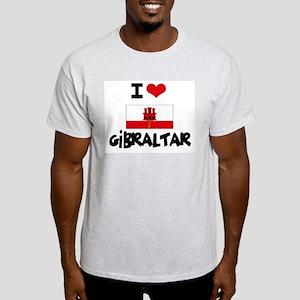 I HEART GIBRALTAR FLAG T-Shirt