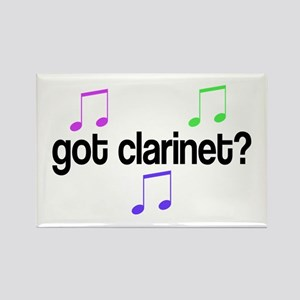Got Clarinet Rectangle Magnet