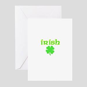 Irish Shamrock Greeting Cards (Pk of 10)