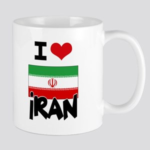 I HEART IRAN FLAG Mug