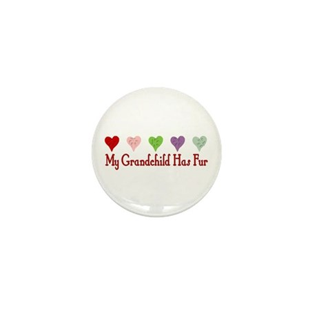 Furry Grandchild Mini Button (100 pack)
