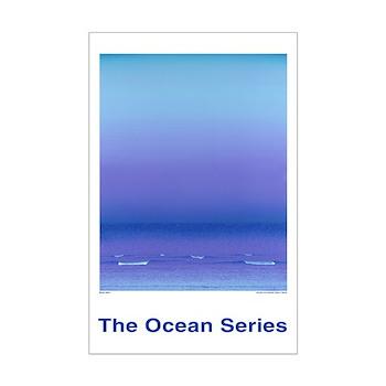 Ocean Blues Ultra 17 x 11 inch POSTER
