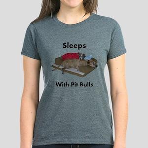 sleeps.with.pitbulls T-Shirt