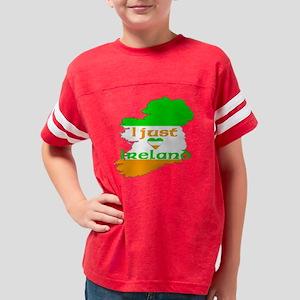 I just love Ireland Youth Football Shirt