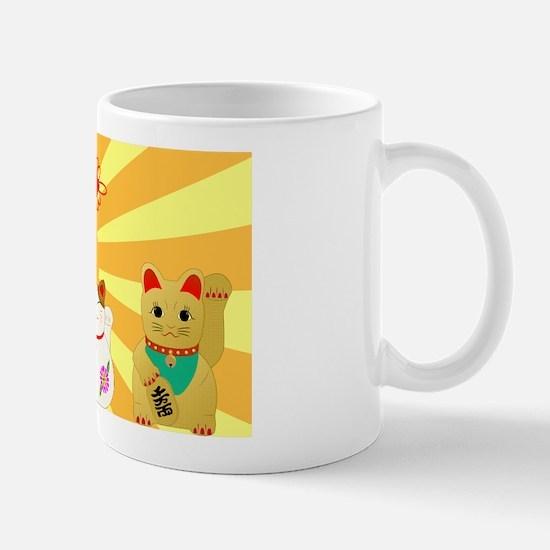 Lucky Cats Mug
