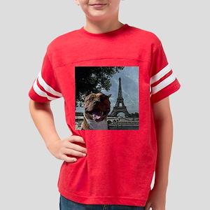 Pit Bull in Paris Youth Football Shirt